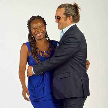 Jason Steinberg with wife.JPG
