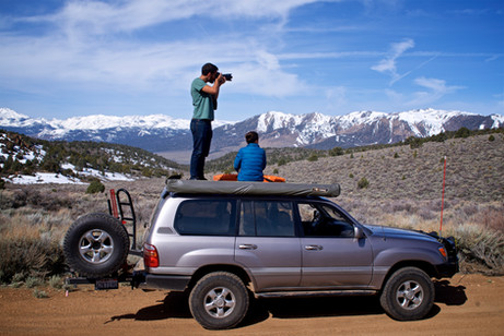 Photographing the Sierra Nevada Mountains