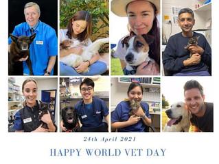 Happy World Veterinarian Day