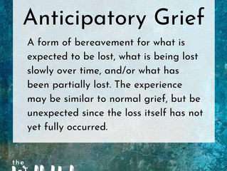Anticipatory Grief