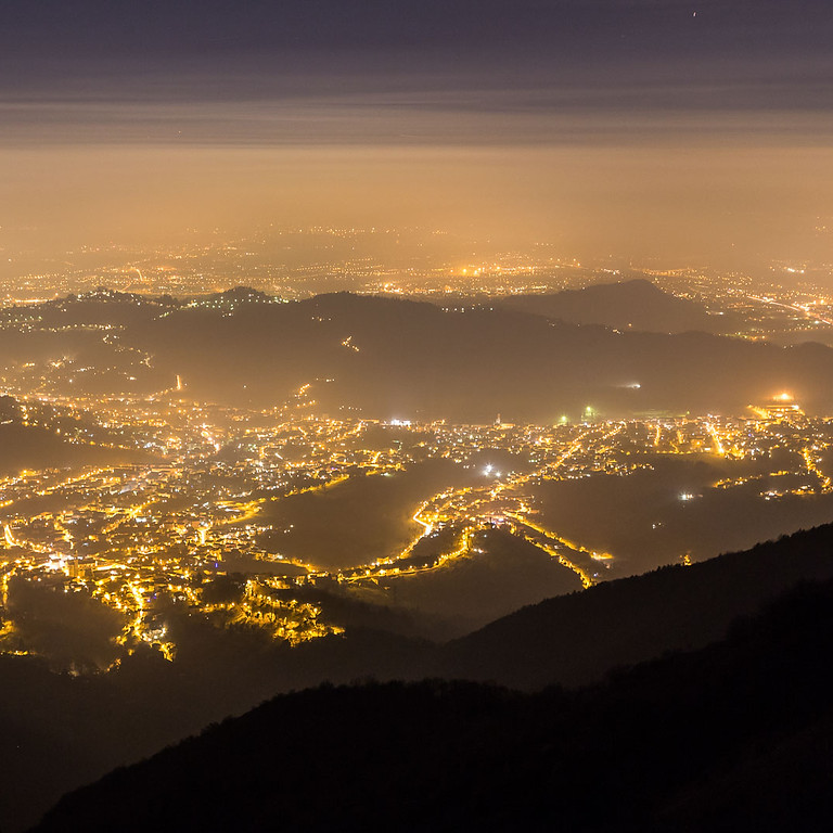 PASSEGGIATA FOTOGRAFICA BY NIGHT IN VETTA AL CANTO ALTO