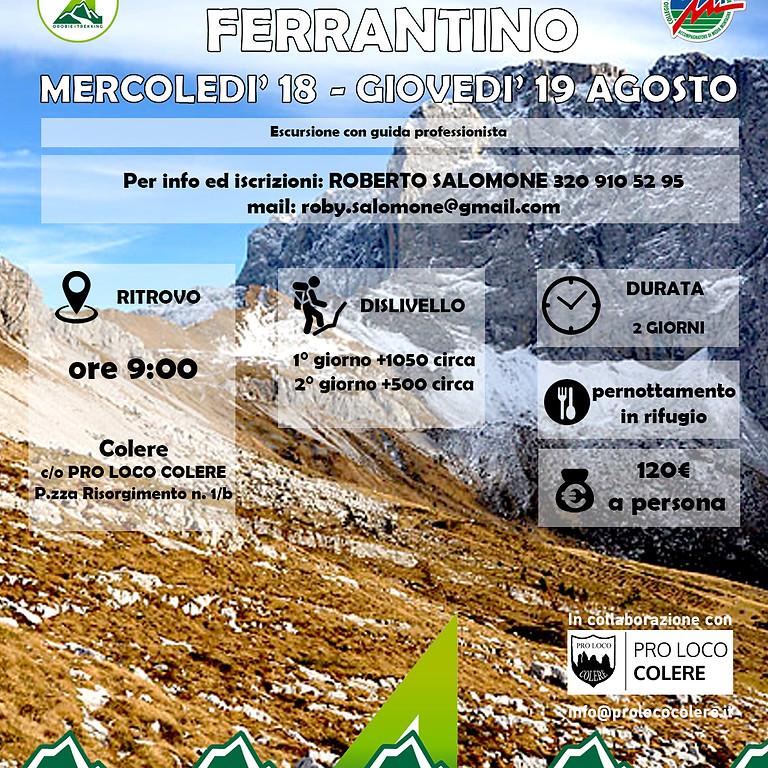 Trekking di due giorni - In cima al monte Ferrantino