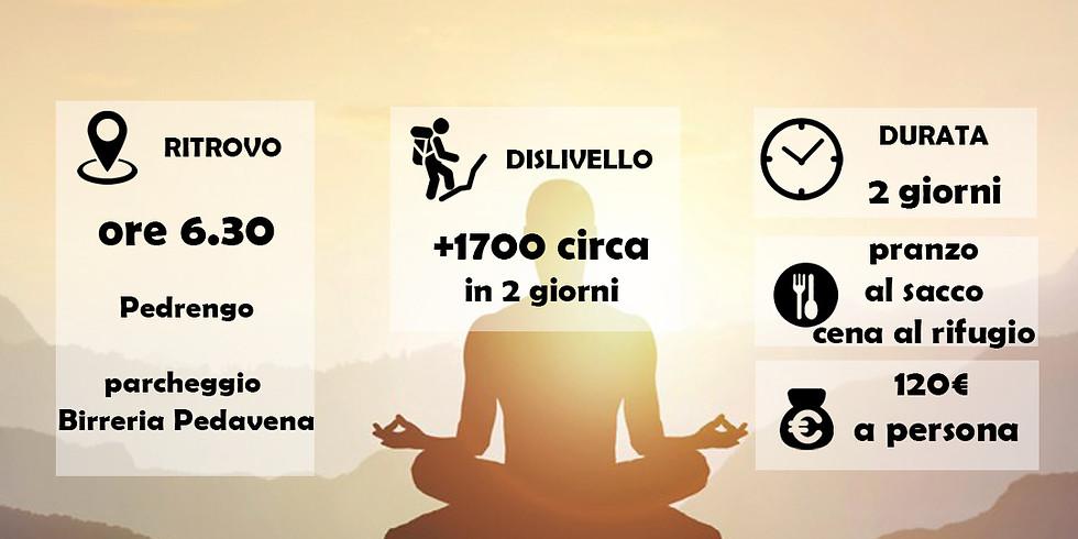 Weekend Trekking Yoga in Val Masino