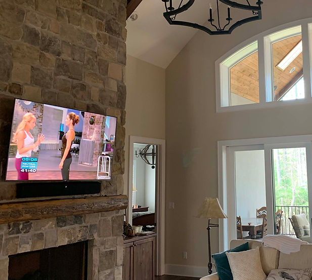 Professional Home Automation systems installed near Atlanta Ga that includes Low Voltage Lighting Control by Lutron Systems as well as a Savant Integration System controlling lighting, video and audio services as well as other technology with this distinctive luxury home located in the Southeastern United States...