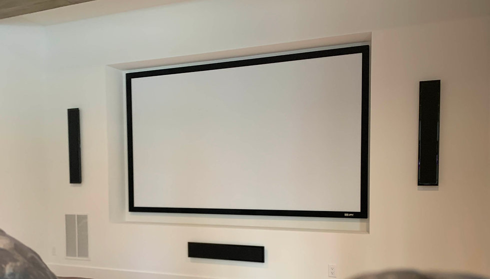Integrated and Automated Home theater system near Atlanta GA featuring a professional custom home theater installation with high performance audio and video services and distribution systems...