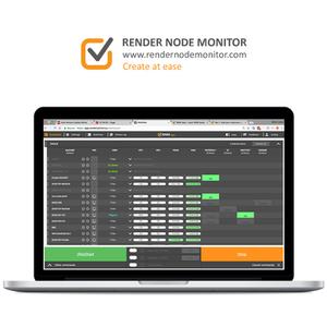 Render Node Monitor