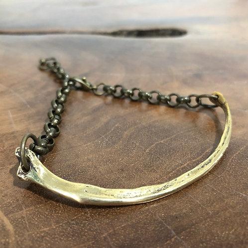 Lynx Bracelet (Bobcat Rib)