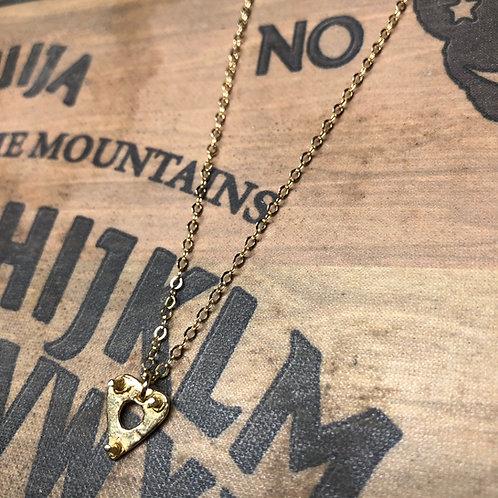 Petite Ouija Planchette Necklace