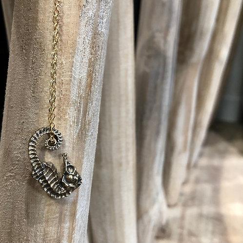 Dark Horse Necklace (Seahorse)