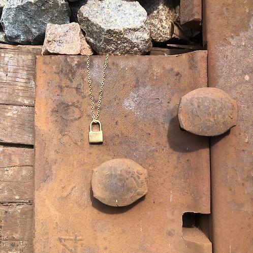 Signature Petite Lock Necklace