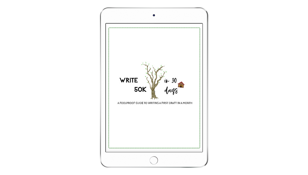 Write 50K in 30 Days | Self-Study Course
