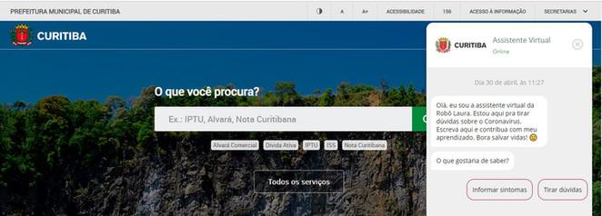 Startup Laura doa inteligência artificial para ajudar Prefeitura de Curitiba a identificar pacientes