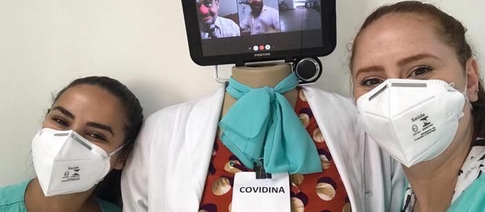"""""""De Nariz para Nariz"""": projeto traz palhaçaria virtual e leveza para a rotina hospitalar"""