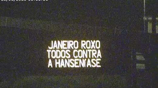 Ecorodovias apoia campanha Janeiro Roxo e impacta centenas de milhares com mensagens de conscientiza