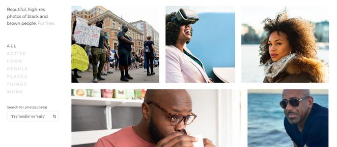 Bancos de imagens que valorizam a diversidade