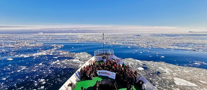Única brasileira de expedição feminina, ambientalista vive experiência na Antártida