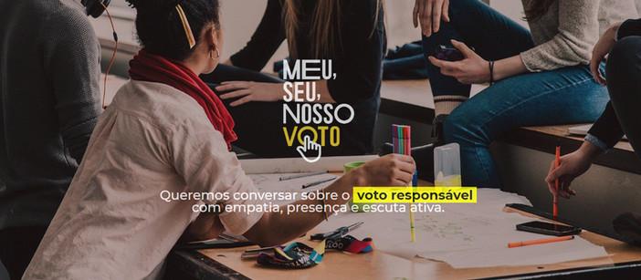 Meu, Seu, Nosso Voto disponibiliza e-book e guia de rodas de conversa em campanha sobre voto respons