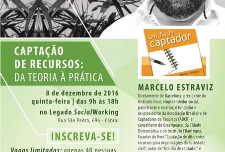 Instituto Legado traz a Curitiba especialista em Captação de Recursos e realiza dia de treinamento s