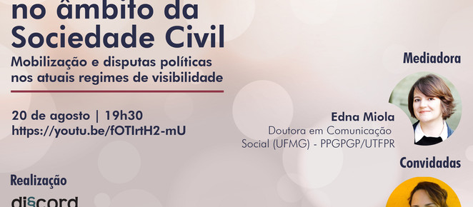 Pesquisadoras debatem iniciativas de comunicação da sociedade civil