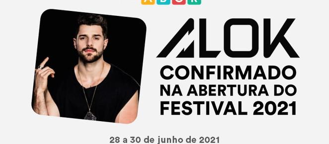 Festival ABCR 2021 acontece entre 28 e 30 de junho e terá participação do DJ Alok
