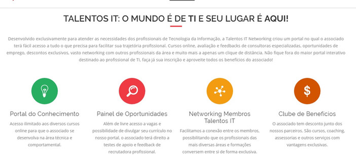 Empresa paranaense cria portal inédito de networking, treinamento e seleção de profissionais de TI