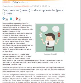 Conheça as colunas de empreendedorismo social mantidas pelo Instituto Legado
