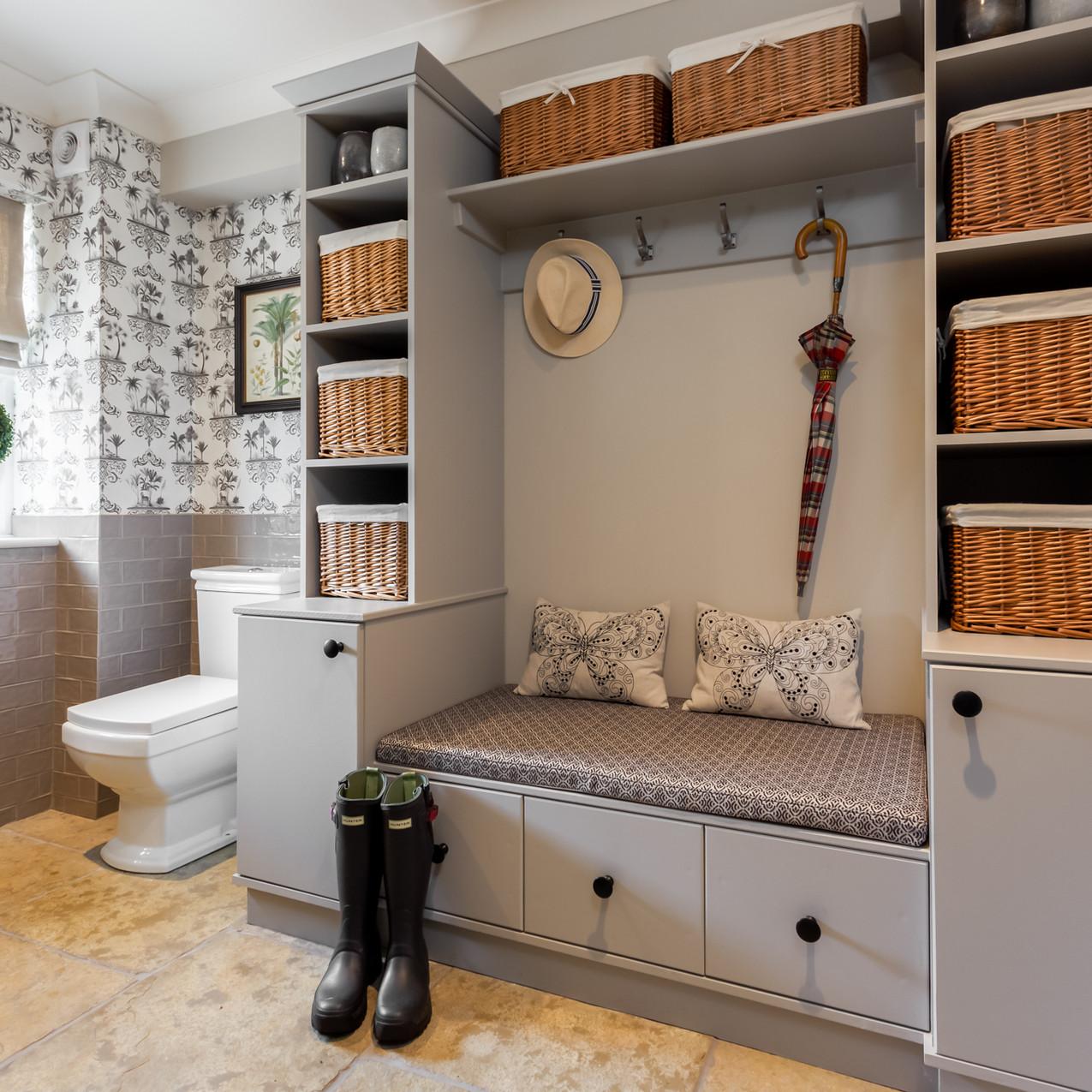 boot room interior designed