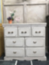 Chest of drawers - up cycled £350