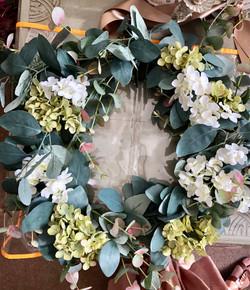 Isabelle Door wreath