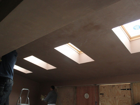 A ray of sunshine through the plaster