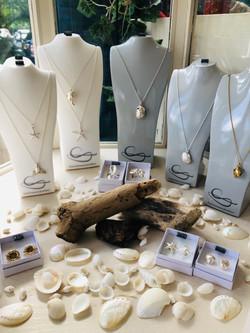 Shell seaside jewellery