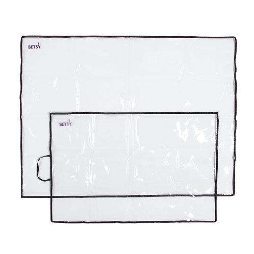 Betsy Group - Betsy Mats - Set of 2 plastic protective mats