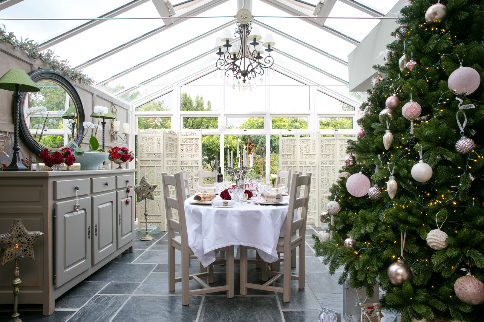 conservatory at Christmas interior styling.jpg