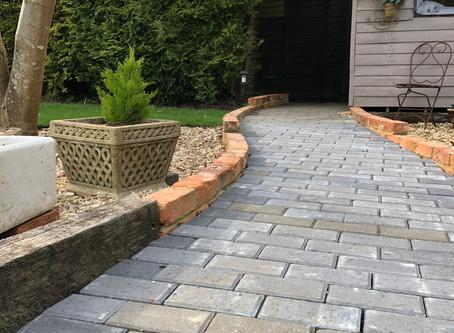 Easy access ramps & garden paths