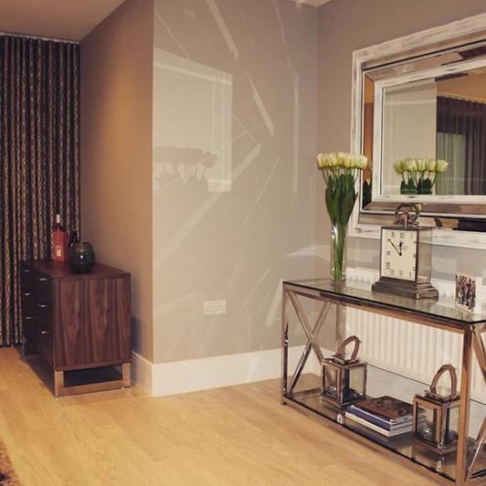 #apartment #contemporarylook #glassandchrome #interiordesigner #getthelook