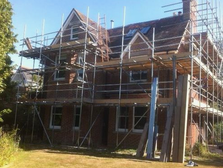 Re-pointing & renovation