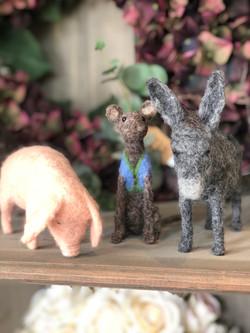 felted animals