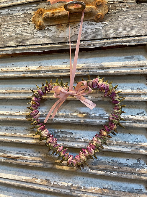 Dried Rose Heart