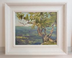 Buttonwood Tree Paula Mitchell art