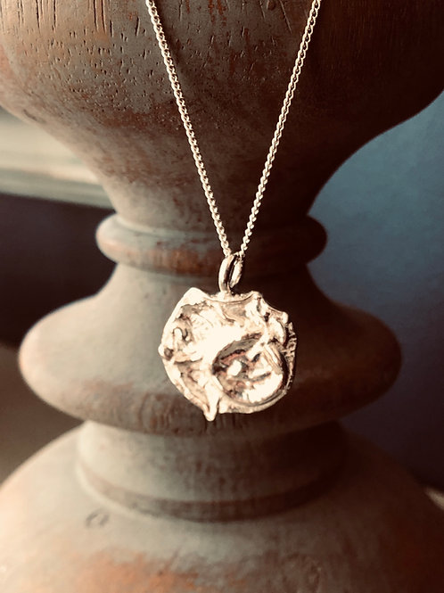 Solid SilverNecklace - Meltdown