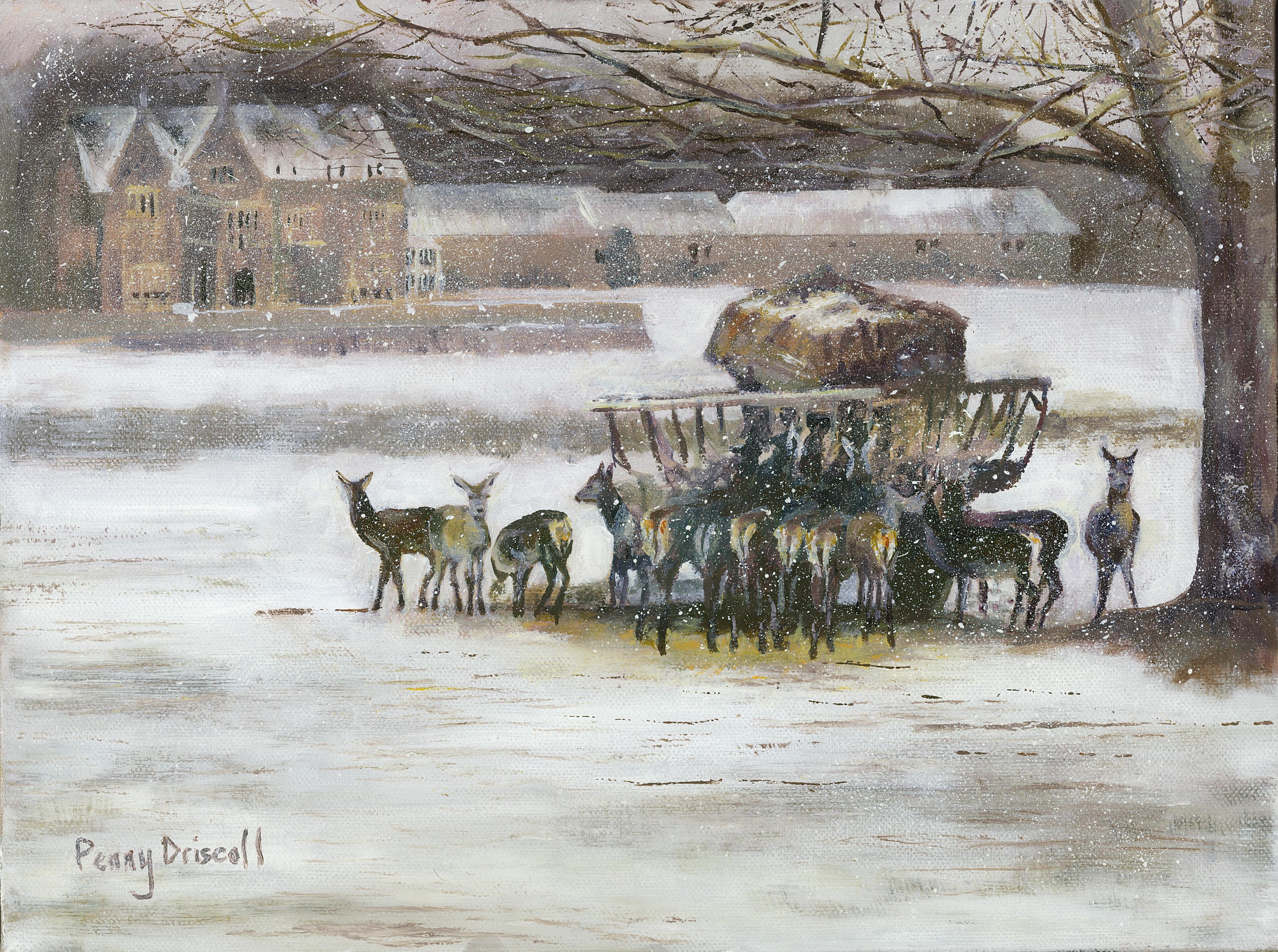 Braving The Blizzard - Penny Driscoll