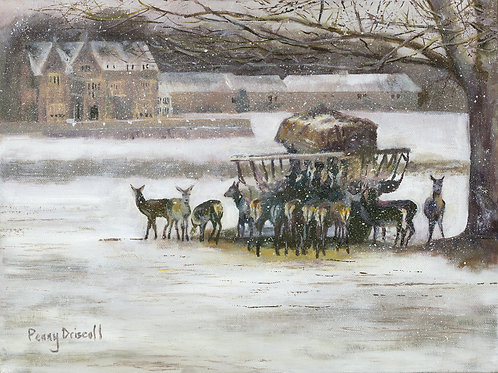 Braving The Blizzard By Penny Driscoll