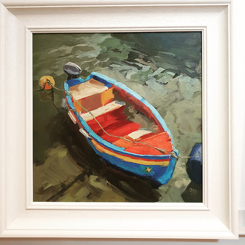 Fishing Boat By Paula Mitchell