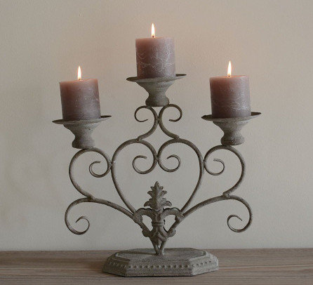 French table candelabra