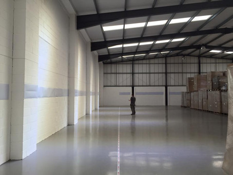 Commercial Warehouse re-fit