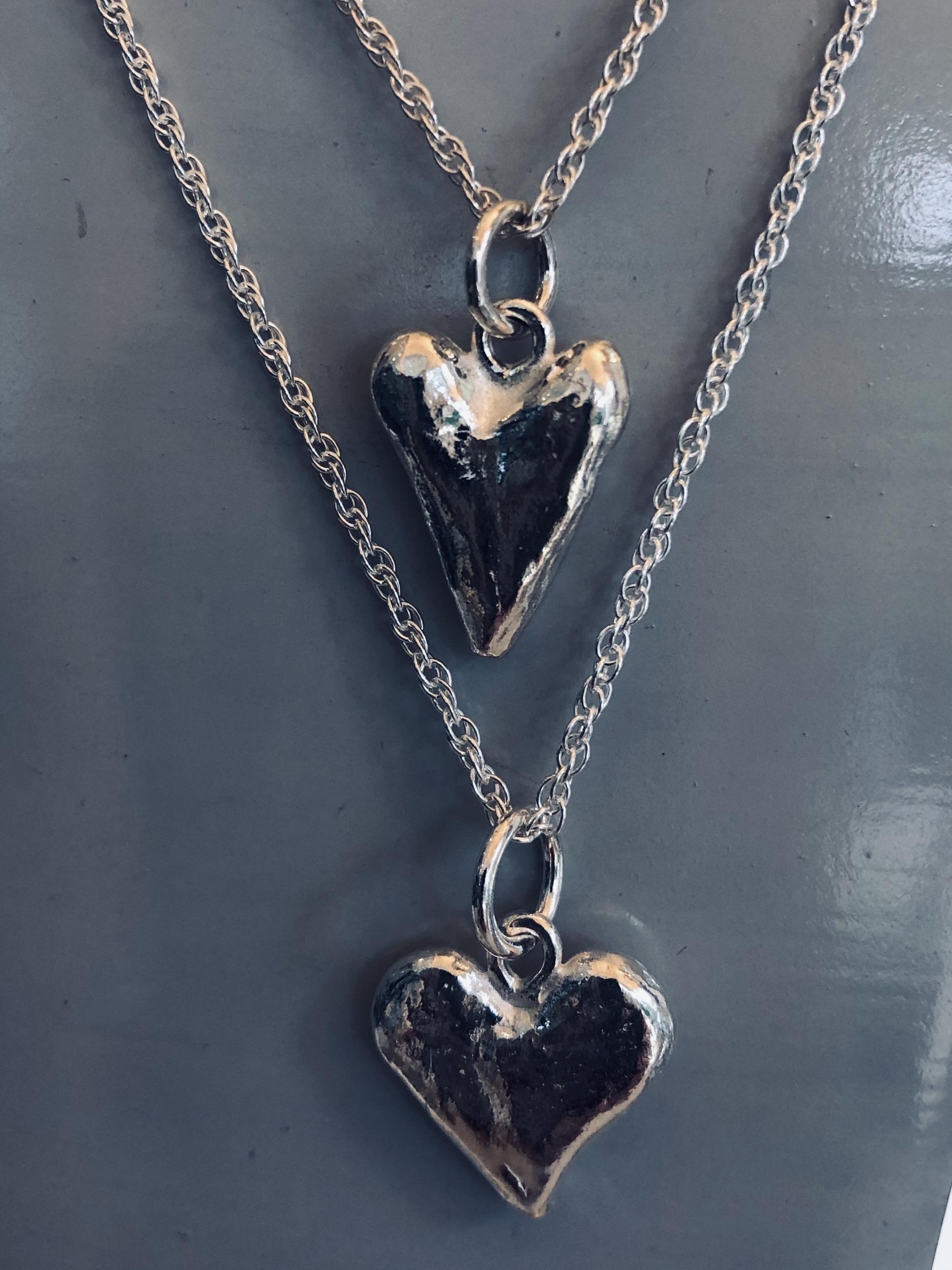 Heart necklase