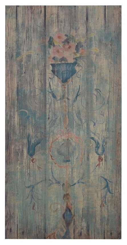 Paint effect wooden wall board