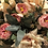 Thumbnail: Dreamy pink blushed vintage roses in green tin