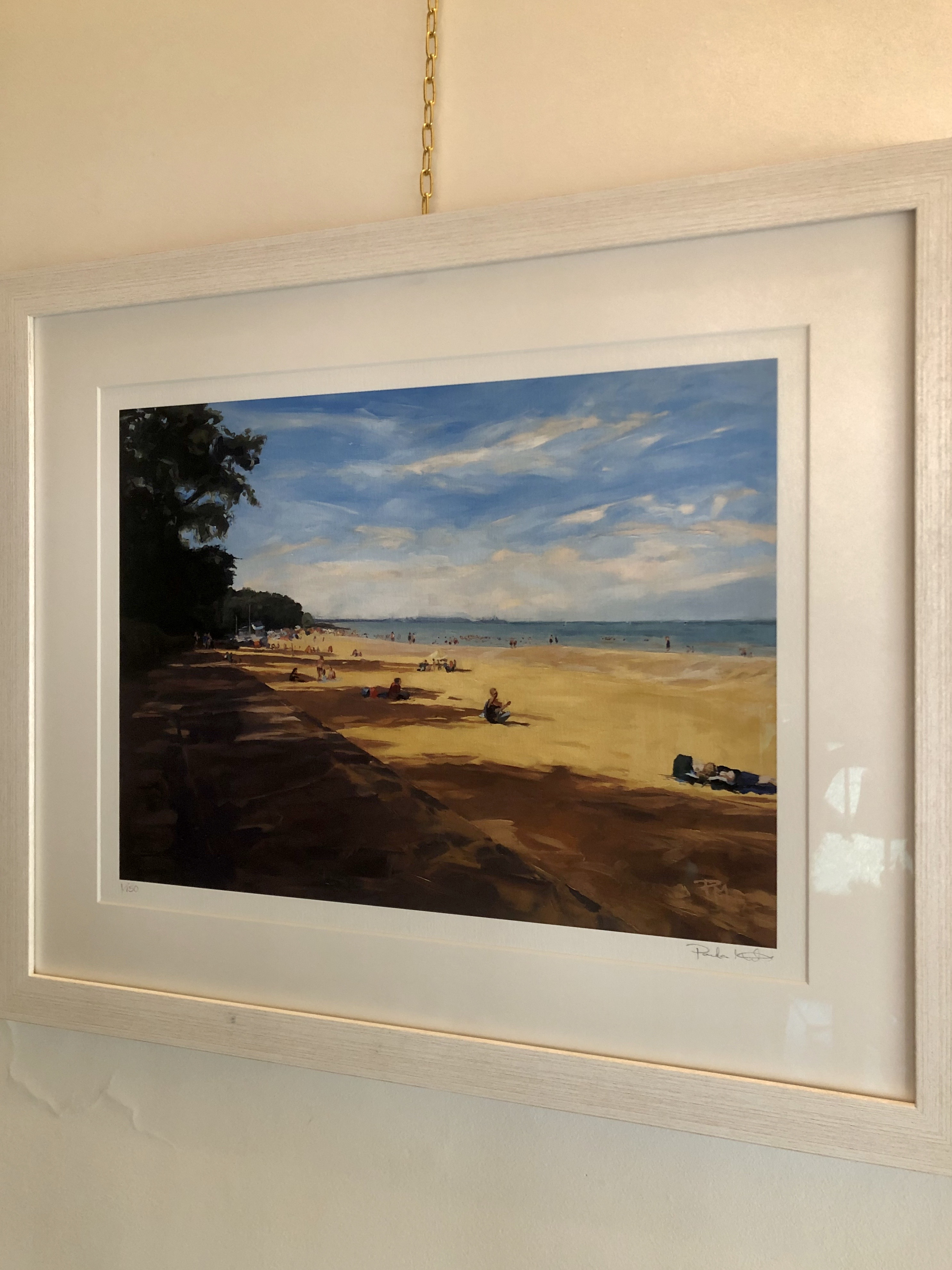 Ryde Beach By Paula Mitchell