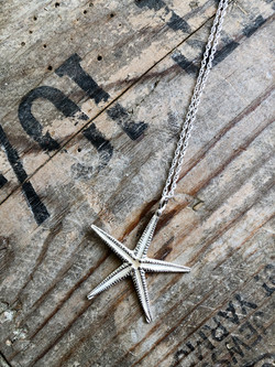 Starfish necklace large